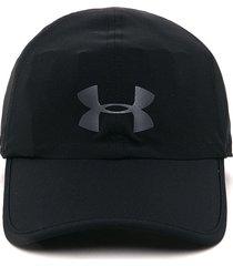 gorra negra under armour cap-blk