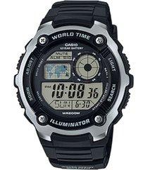 reloj ae-2100w-1a casio negro