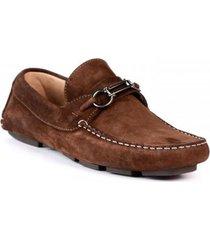 zapato mocasin san polos 3023 chocolate