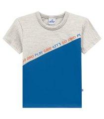 camiseta primeiros passos abrange game cinza claro abrange casual cinza