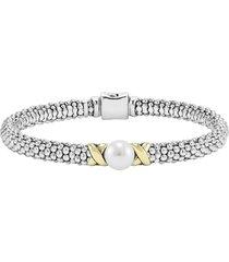 women's lagos luna pearl rope bracelet
