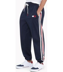 tommy hilfiger women's space jam: a new legacy x tommy jeans track pant masters navy - l