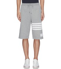 stripe sweat shorts