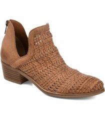 journee signature women's dakota booties women's shoes