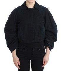 denim jacket short 2 in 1