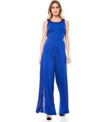 macacão longo pantalona feminino - feminino