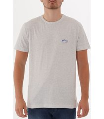 boss curved logo t-shirt - grey 50412363