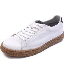 sapatênis haulover shoes grand em couro masculino - masculino