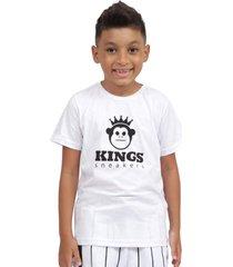 camiseta kings sneakers classic branco