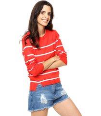 sweater rojo nano