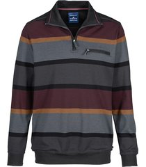 sweatshirt babista antraciet::bordeaux