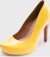 stiletto maria amarillo pao pecados