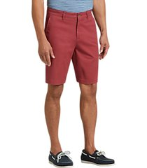 joseph abboud burnt russet modern fit shorts
