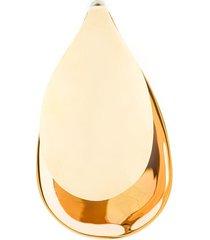 charlotte chesnais maxi petal single earring - metallic