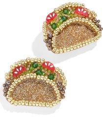 baublebar taco statement stud earrings in multi at nordstrom