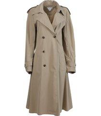 sand beige trench coat