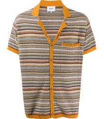 nanushka taro camp shirt - orange