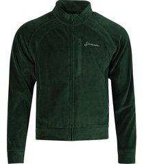 velour top, green