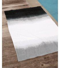 michael aram dip dye ombre 100% cotton beach towel bedding