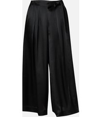 mcq alexander mcqueen women's iki trousers - black - it 38/uk 8