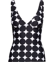 beach tops wireless tankini baddräkt svart esprit bodywear women