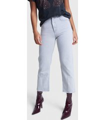 alix the label 2103159863 ladies woven straight jeans