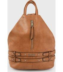 mochila marrón amphora