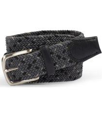 club room men's braided belt, created for macy's