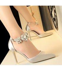 moda sandalias de tacón alto para las mujeres sandalias