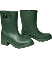 botas impermeables para mujer michelle idecal verde militar