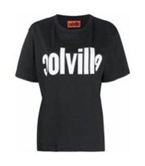 colville camiseta de algodão com estampa de logo - preto