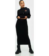 pieces pcmilla hw midi knit skirt d2d midikjolar