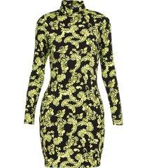alice + olivia blend viscose bandeau dress
