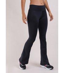calça feminina bailarina cintura média preta