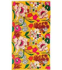 sunshine super bloom giant towel - multi
