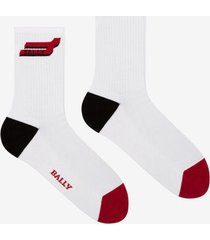 short competition socks red 40