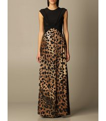 just cavalli dress just cavalli animal print long dress