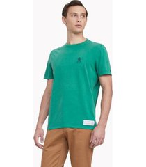 tommy hilfiger men's 35 anniversary collection t-shirt green - l