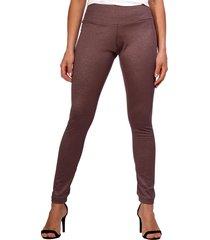 calça amazonia vital legging montaria sem recorte na perna brown