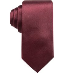 ryan seacrest distinction men's solid silk tie, created for macy's