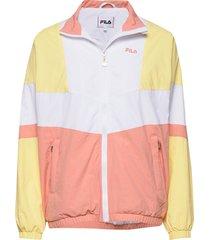women baka woven track jacket zomerjas dunne jas multi/patroon fila