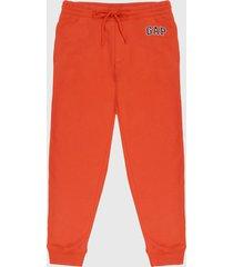 pantalón naranja-azul gap