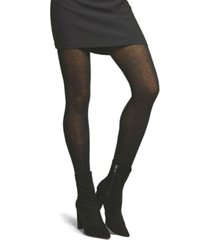 natori women's cashmere flat knit sweater tights hosiery