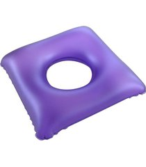 almofada anti escara quadrada com orifício água bioflorence 102.40.004
