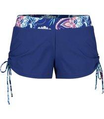 pantaloncini da mare con slip integrato (blu) - bpc bonprix collection