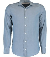 stretch cotton pique shirt