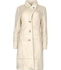 faux lammy coat paula  naturel