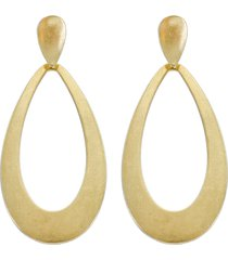 women's panacea open teardrop earrings
