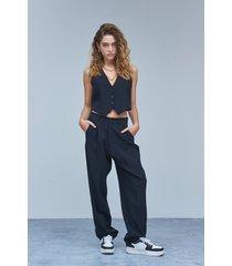 pantalón negro 47 street tailor