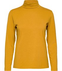 t-shirt l/s turtleneck polotröja gul brandtex